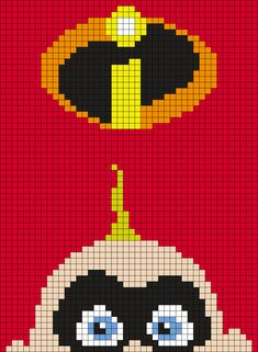 Jack - Jack Parr From The Incredibles Poster by Maninthebook on Kandi Patterns