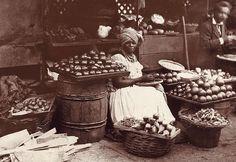 Vendedora. Rio de Janeiro, 1894. Foto de Marc Ferrez (Rio de Janeiro, 7 de dezembro de 1843 — Rio de Janeiro, 12 de janeiro de 1923)