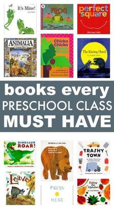 58 Books Every Preschool Class MUST have