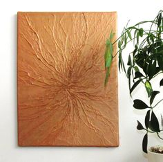 Nature Inspired Art  textured organic/ rustic art by BevSamantha