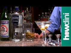 How to make a dirty martini - Dirty martini drink recipe - YouTube