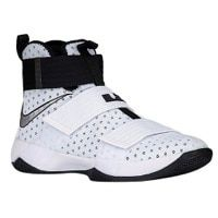 Nike LeBron Soldier 10 - Men's - Lebron James - White / Silver