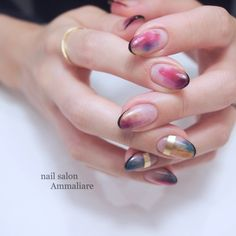 A little mode is cool ♡ summer nail cataroo for adults . Edgy Nail Art, Edgy Nails, Chic Nails, Stylish Nails, Love Nails, Trendy Nails, Fancy Nails Designs, Nail Art Designs Videos, Nail Designs