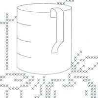 Kitchen Gadgets Cross Stitch & Applique: {Free Patterns} : TipNut.com