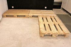 Tuto : un canapé d?angle en palettes 2
