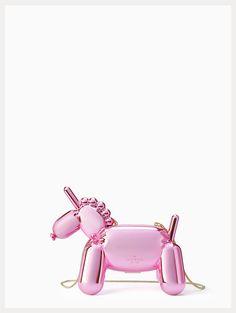 a pink unicorn balloon clutch bag?!  yes please!!