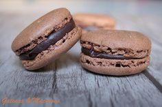 La ricetta dei #Macarons al cioccolato - #macaron #dolci #frenchmacarons #food #foodporn Macarons, Cupcake, Muffin, Cupcakes, Macaroons, Cupcake Cakes, Muffins, Cup Cakes