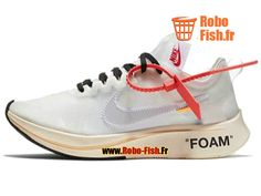 Chaussure de Running Off White x Nike Zoom Fly The Ten Prix Homme Blanc BasketBall Boutique Nike (FR) Mon Cheri, Nike Zoom, Nike Air Max, Nike Pas Cher, Sport Nike, Converse, Off White, Sportswear, Boutique