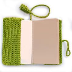 Crochet pattern for book covers