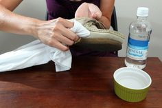 Home Remes For Cleaning Suede Shoes