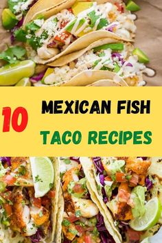 Mexican fish tacos. How do you make fish tacos? With these delicious & easy recipes, make some of the best Mexican fish tacos. Here are our top 10 recipes. #tacos #tacorecipes #mexicantacos #fishtacos #fishtacorecipes #mexicanfishtacos #mexicanfishtacorecipes Sides For Fish Tacos, Side Dishes For Fish, Healthy Fish Tacos, Easy Fish Tacos, Easter Dinner Recipes, Delicious Dinner Recipes, Lunch Recipes, Appetizer Recipes, Holiday Recipes