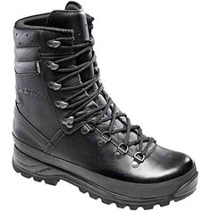 Lowa Combat GTX Military Boots UK 10 Black ** Check out this great product.(This is an Amazon affiliate link)