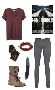 """the maze runner outfit#2"" by nyahbug ❤ liked on Polyvore"