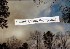 And I will....