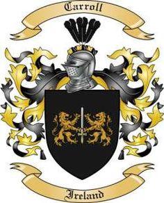 My family's crest - Carroll - Irish