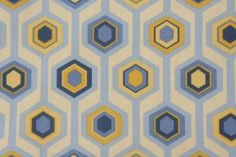 Mill Creek Titus - Terrace Printed Polyester Outdoor Fabric in Canary $8.95 per yard