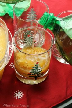 This brandy slush recipe is SO good! Top with Canada Dry Ginger Ale or 7UP and enjoy!!