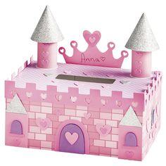 DIY Castle Valentine's Box