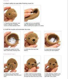 Crochet Teddy Bear Pattern, Crochet Animal Patterns, Crochet Bear, Stuffed Animal Patterns, Crochet Patterns Amigurumi, Crochet Animals, Crochet Dolls, Amigurumi Tutorial, Balloon Decorations Party