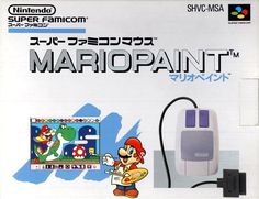 Today in gaming history  July 14, 1992 Mario started to paint the world with Mario Paint's release in Japan  Game On! Video Game Depot