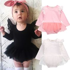 New Baby Girl Birthday Dress Ball Gown Christening Dresses 1 Year Girl Baby Birthday Dress Baby Girl Dress - Kid Shop Global - Kids & Baby Shop Online - baby & kids clothing, toys for baby & kid Baby Outfits, Body Suit Outfits, Kids Outfits, Trendy Outfits, Fashion Kids, Cute Newborn Baby Girl, Baby Girl Romper, Baby Girls, Girls Party Dress