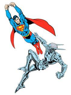 Superman Vs. Brainiac by Jose Luis Garcia-Lopez