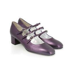 Chaussures - Kina Laminé Violet