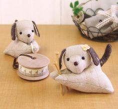 DIY Patchwork Animal Lovers craft kit (6 cute couples to choose from)