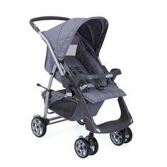 Carrinho para Bebê Rio Plus Reversível New Silver 2053CZ58 - Burigotto