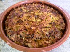 Cocineanddu: Arròs amb bacallar i floricoll al forn (Arroz con bacalao y coliflor al horno)
