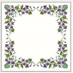 Cross Stitch Flowers, Pansies, Embroidery Stitches, Hand Embroidery, Cross Stitch Designs, Le Point, Stitching, Floral Wreath, Crocheting