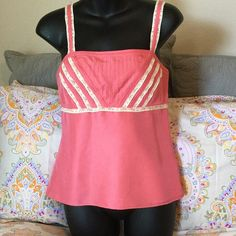 Pretty pink top by Ann Taylor Excellent condition- side zipper Ann Taylor Tops