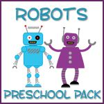 link to MANY great preschool packs: princess, knights, transportation, cars, robots, bugs, solar system, superheros, etc.