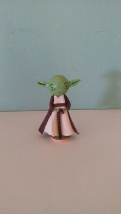 Yoda Clothespin Doll. $20.00, via Etsy.