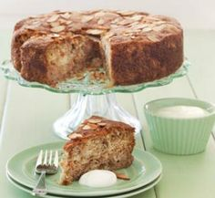 Feijoa and almond cake | Healthy Food Guide 194 calories per slice