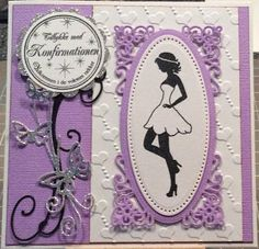Et konfirmationskort 3d Cards, Cute Cards, Communion, Confirmation Cards, 3d Sheets, Die Cut Cards, Handmade Birthday Cards, Holidays And Events, Projects To Try
