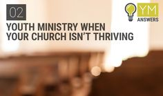 "02 | Youth Ministry When Your Church Isn't Thriving - Jeremy Zach joins Kenny and Elle to answer the question ""How Can I Have A Vibrant Youth Ministry In A Church That Isn't Thriving?"""