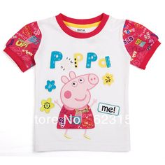 Aliexpress.com : Buy FREE SHIPPING K4028# 18m/6y 5pieces /lot nova tunic top pig embroidery summer short sleeve T shirt from Reliable NOVA tunic top suppliers