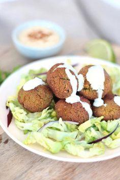 Falafels au four vegan et sans gluten – du bio dans mon bento