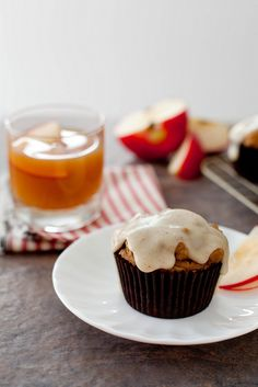 apple cider muffins with browned butter glaze by annieseats, via Flickr