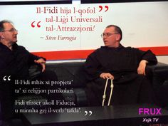 Resident Life Coach on the programme FRUX, presented by Ivan Bartolo and hosted on Xejk TV - a discussion in the Maltese language.