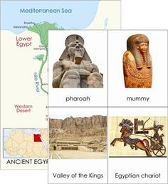 Ancient Egypt (Montessori cards)