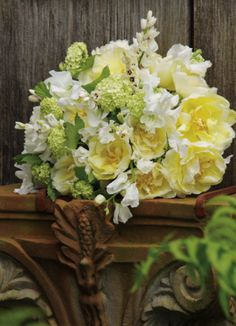 Really cool corbel. The Hamptons Weddings - Bouquets - Inspiration Galleries | WellWed in the Hamptons