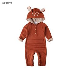 Wholesale 2017 Autumn Knitted baby boys girls clothes set long sleeve Reindeer Newborn baby Romper jumpsuit roupas de bebe-in Rompers from Mother & Kids on Aliexpress.com | Alibaba Group