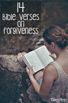 14 Bible Verses on Forgiveness Forgiveness Quotes Christian, Bible Verses About Forgiveness, Bible Verses About Love, Love And Forgiveness, Biblical Verses, Bible Verses Quotes, Bible Scriptures, Quotes Quotes, Lesson Quotes