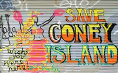 Grafitti @ Coney Island Click through to see what else you should do in Brooklyn on your next visit