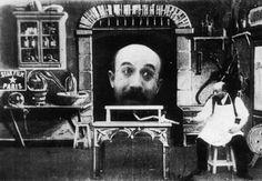 Fotografía de 'El Hombre de la Cabeza de Goma' (1901) - Georges Méliès