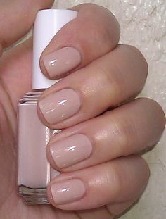 Polish or Perish: Nude Pink Perfection - Essie Topless & Barefoot