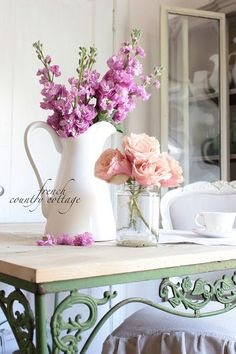 Generous standardized french country shabby chic home No Credit Card Required Shabby Chic Kitchen, Shabby Chic Homes, Shabby Chic Decor, French Decor, French Country Decorating, Do It Yourself Design, Country Chic Cottage, Cottage Style, French Cottage