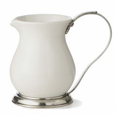 Tuscan Large Pitcher - Traditional - Serveware - by Arte Italica Kitchenware, Tableware, Ceramic Pitcher, Home Gifts, Pewter, White Ceramics, Tea Pots, Porcelain, Art